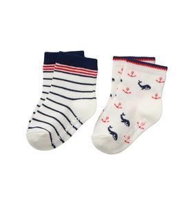 Nautical Sock 2-Pack