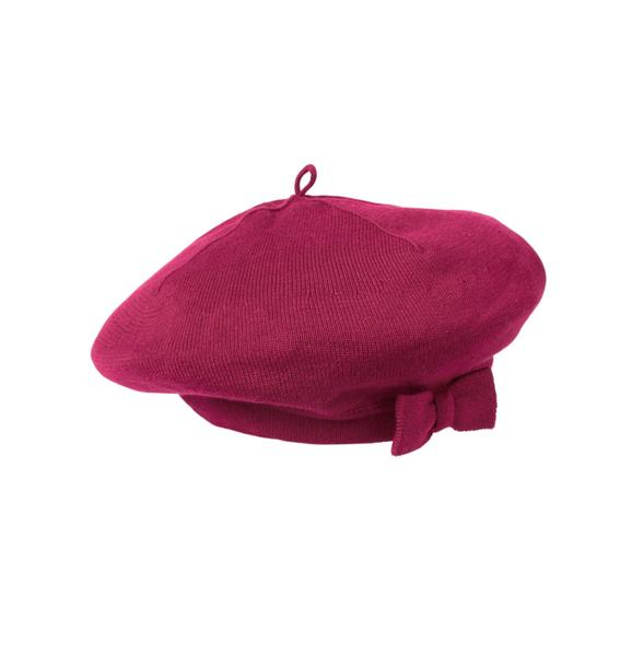 Bow Sweater Beret