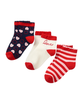 Valentine Sock 3-Pack
