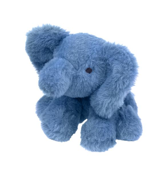 Plush Elephant Rattle