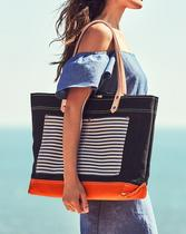 Chic Shop Striped Tote