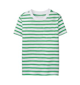 Striped Slub Pocket Tee