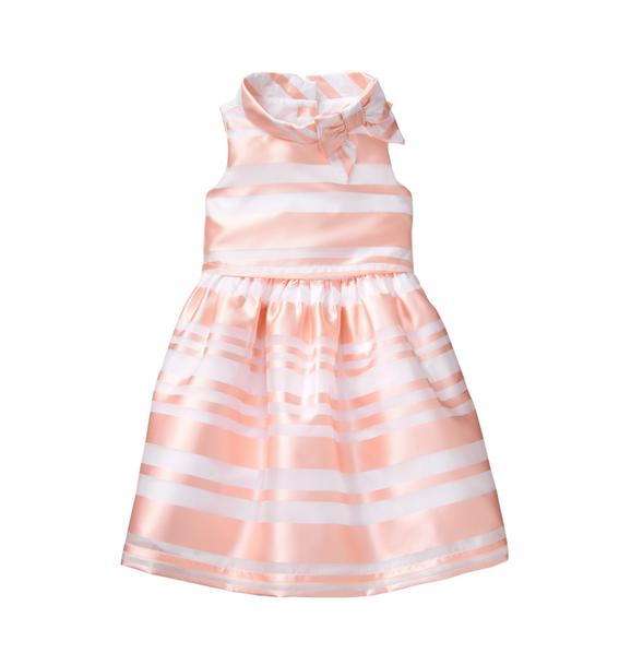 Striped Organza Dress