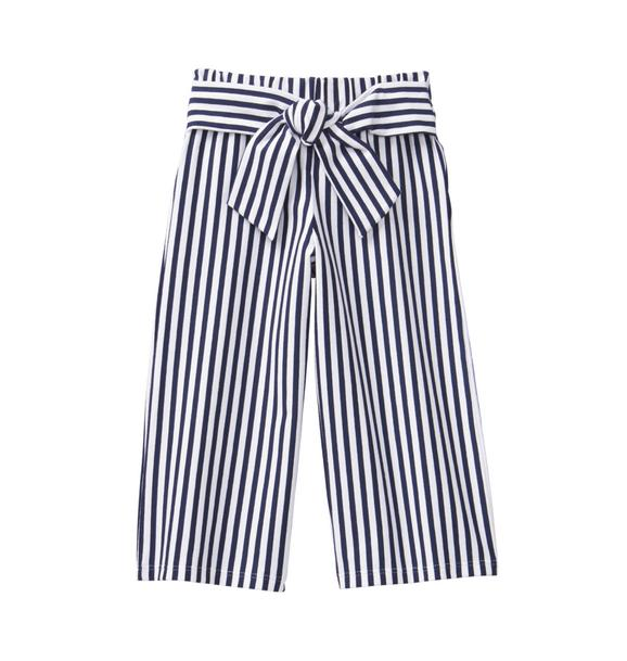 Striped Wide Leg Pant