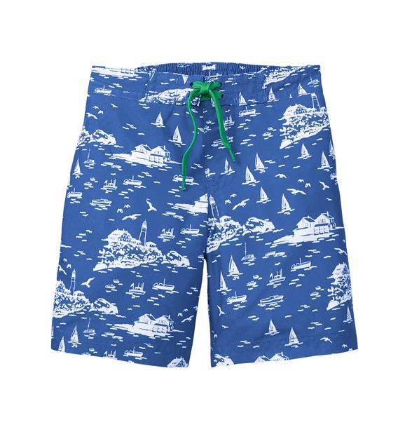 Seaside Swim Trunk