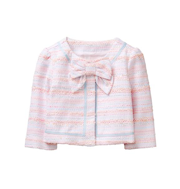 Striped Bouclé Jacket