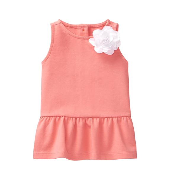 Peplum Bloom Top