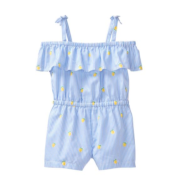 Striped Lemon Romper
