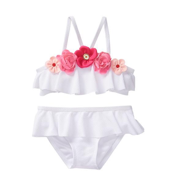 Bloom Ruffle 2-Piece Swimsuit