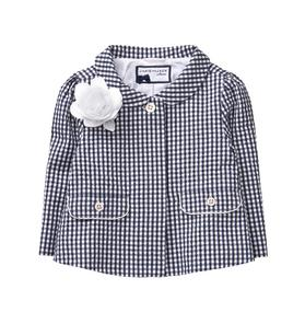 Gingham Bloom Jacket
