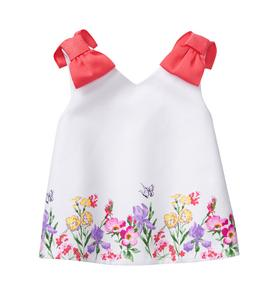 Floral Bow Top