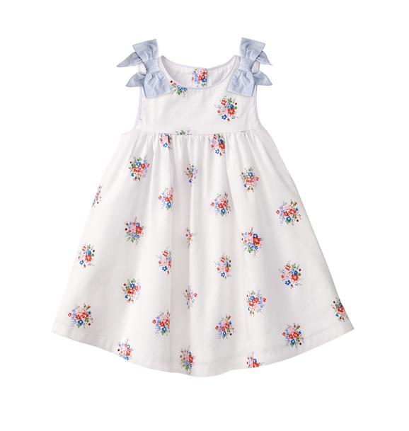 Bouquet Print Dress