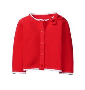 Bow Sweater Cardigan