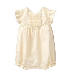 Striped Smocked 1-Piece