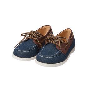 Chambray Boat Shoe