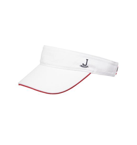 Striped JJ Sport Visor