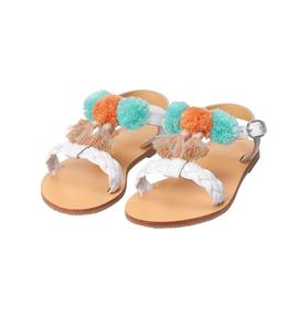 Pom-Pom Sandal