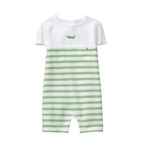 Striped Alligator 1-Piece