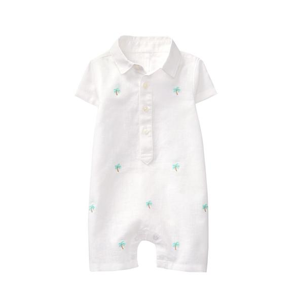 Embroidered Palm 1-Piece