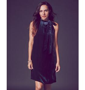 Velvet Tie Dress