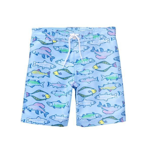 Fish Swim Trunk