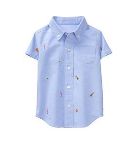 Tropical Oxford Shirt