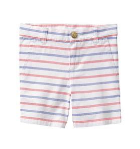 Striped Oxford Short