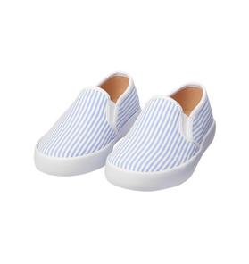 Seersucker Slip-On Sneaker