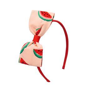 Watermelon Bow Headband