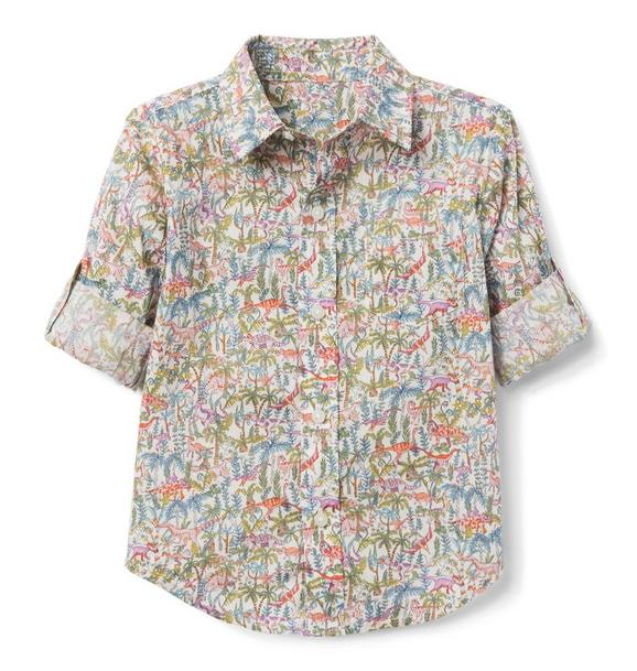 Liberty® Rumble And Roar Roll-Cuff Shirt