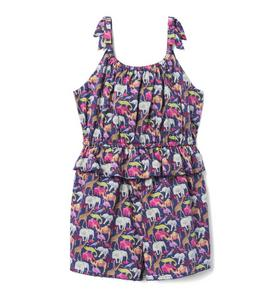Liberty® Queue For The Zoo Romper