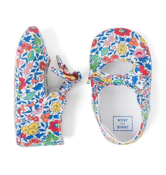 Liberty® Favourite Flowers Crib Shoe