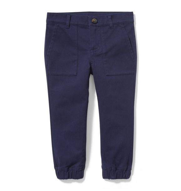 Stretch Canvas Jogger
