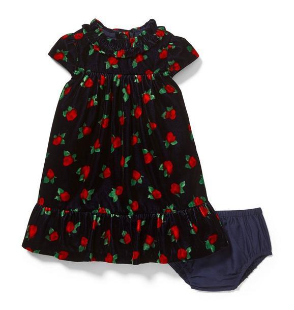 Velvet Rose Dress