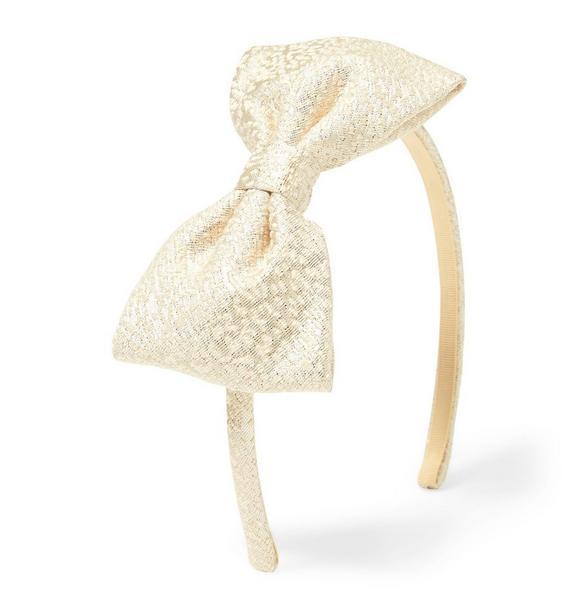 Shimmer Bow Headband
