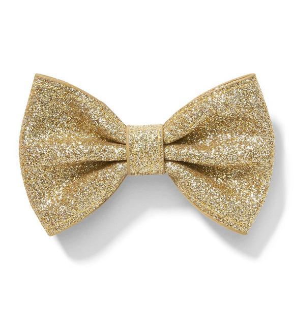 Glitter Bow Barrette