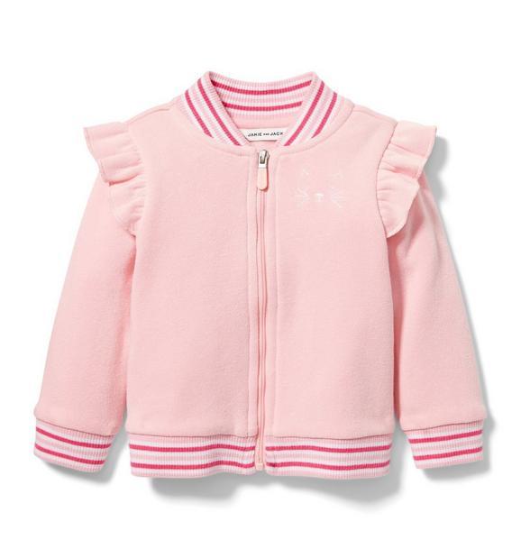Cat Fleece Jacket