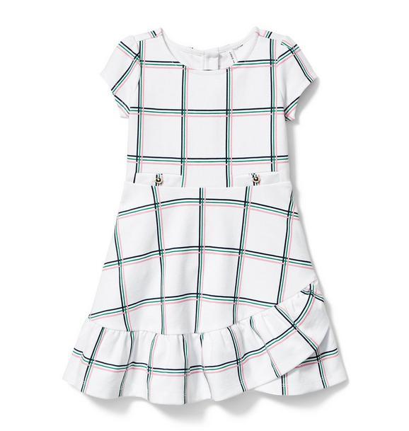 Windowpane Ponte Dress