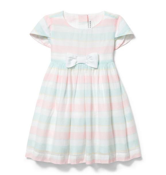 Dobby Stripe Dress
