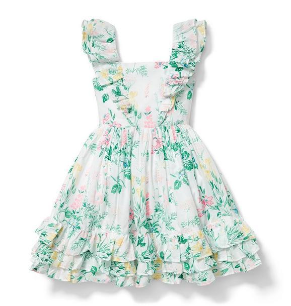 Floral Ruffle Dress