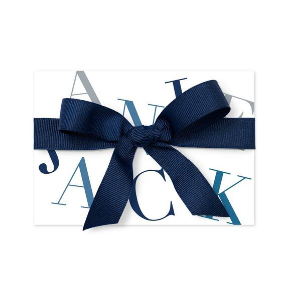 Janie and Jack Traditional Gift Card