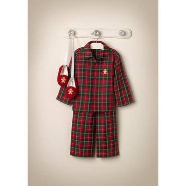 Plaid Pajamas Outfit by JanieandJack