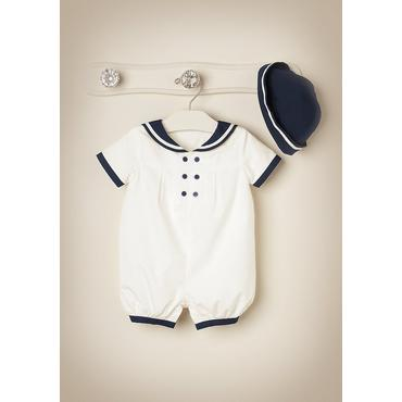 Sweet Nautical Outfit by JanieandJack