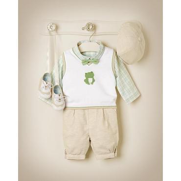 Dapper Frog Outfit by JanieandJack