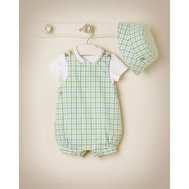 Spring Gingham Outfit by JanieandJack