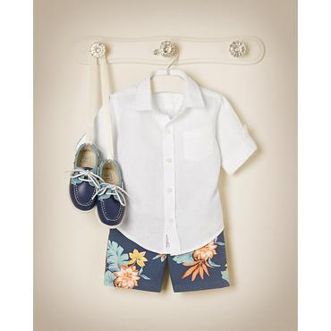 Tropical Traveler Outfit by JanieandJack