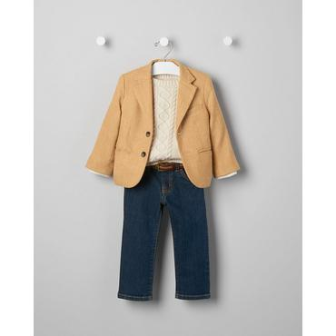 Baby Boy's Sunday Brunch Outfit by JanieandJack