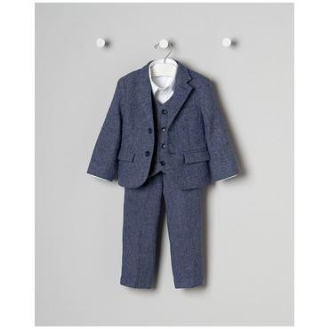 Baby Boy's True Blue Celebration Outfit by JanieandJack