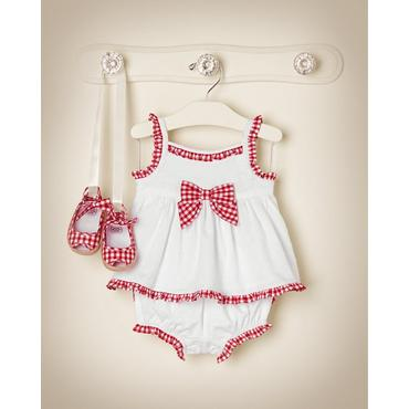 Gingham Celebration Outfit by JanieandJack
