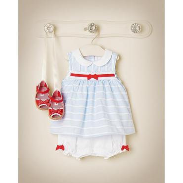 Sweetly Striped Outfit by JanieandJack